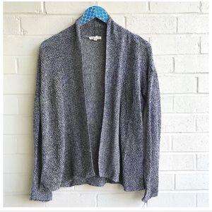 Eileen Fisher Organic Linen Knit Open Cardigan